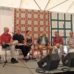 Dance callers discussion panel at the Champlain Valley Folk Festival, Burlington, VT