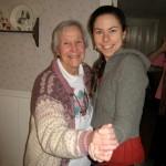 Grandma Wesley's still dancing!